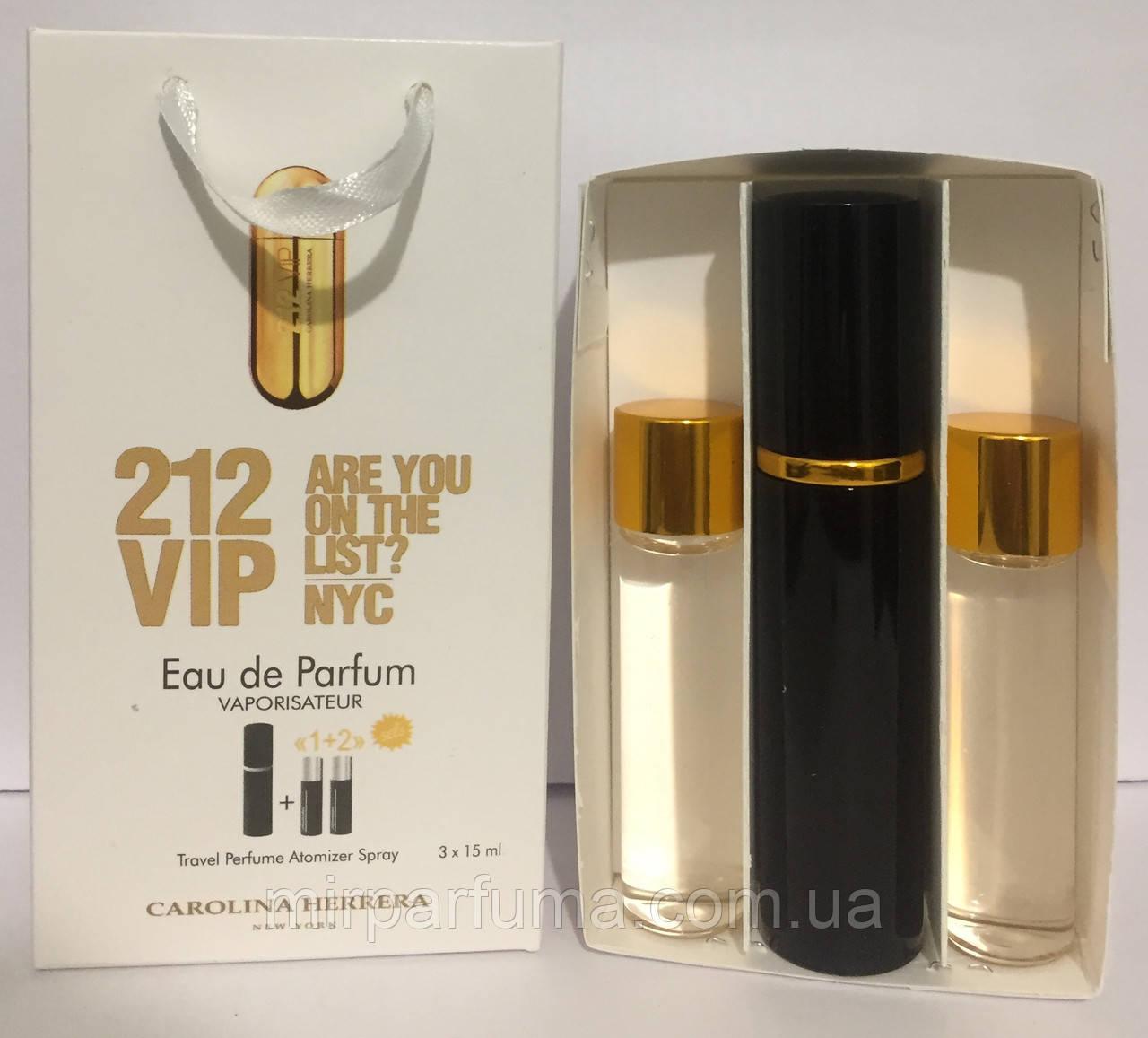 Мини духи в наборе Carolina Herrera 212 Vip Woman 45ml