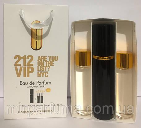 Мини духи в наборе Carolina Herrera 212 Vip Woman 45ml, фото 2