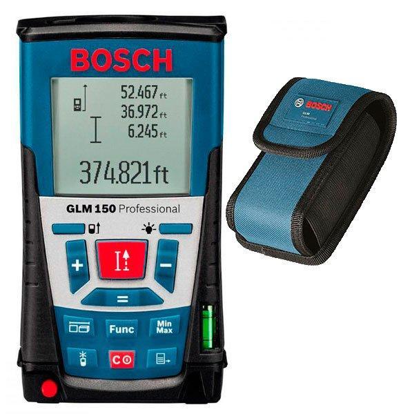 Лазерный дальномер Bosch GLM 150 + чехол (0601072000)