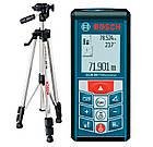 Лазерный дальномер Bosch GLM 80 + штатив Bosch BT 150 + чехол (06159940A1), фото 2