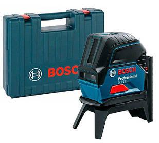 Лазерный нивелир Bosch Professional GCL 2-15 + держатель RM 1 + чемодан (0601066E02)