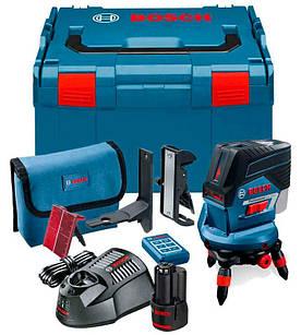 Лазерный нивелир Bosch Professional GCL 2-50 C + держатель RM3 + пульт RC2 + L-Boxx + чехол (0601066G04)