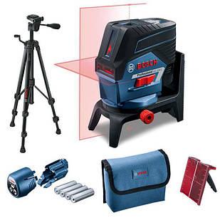 Лазерный нивелир Bosch Professional GCL 2-50 C + штатив BT 150 + держатель RM 2 + чехол (0601066G02)