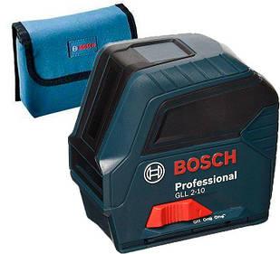 Лазерный нивелир Bosch Professional GLL 2-10 + чехол (0601063L00)