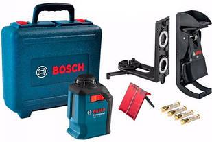 Лазерный нивелир Bosch Professional GLL 2-20 + держатель BM3 + чемодан (0601063J00)