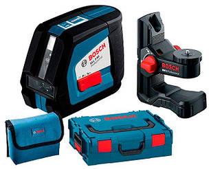 Лазерный нивелир Bosch Professional GLL 2-50 + держатель BM1+ чемодан L-Boxx + чехол (0601063108)