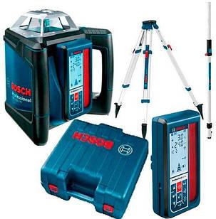 Лазерний нівелір Bosch GRL 500 HV + LR 50 + штатив BT 160 + лінійка GR 500 + валіза (06159940EF)