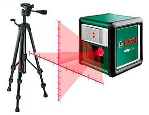 Лазерный нивелир Bosch Quigo Plus + штатив Bosch (0603663600)