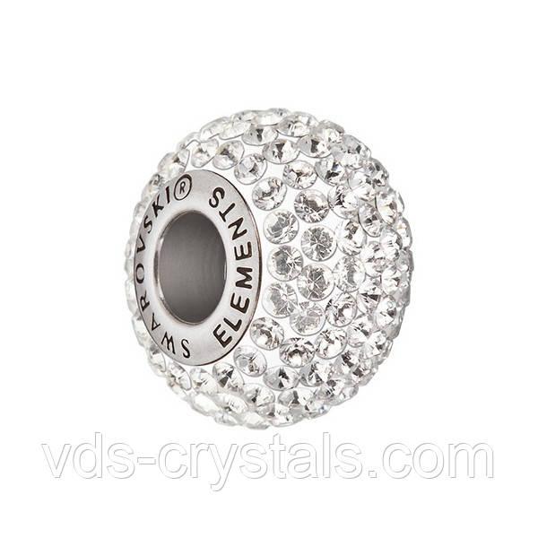 Бусины Swarovski для браслета Пандора 181101 Crystal