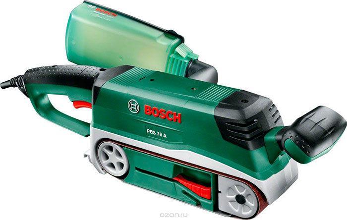 Ленточная шлифмашина Bosch PBS 75 A (06032A1020)