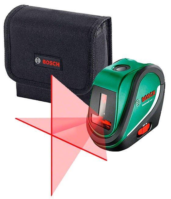 Линейный лазерный нивелир Bosch UniversalLevel 2 + чехол (0603663800)