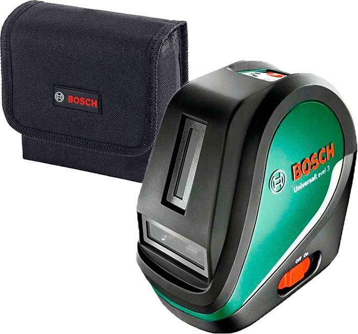Линейный лазерный нивелир Bosch UniversalLevel 3 + чехол (0603663900)