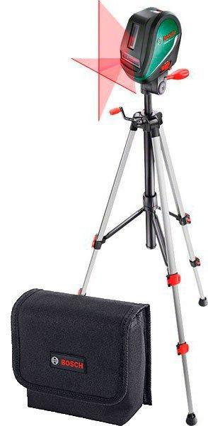 Линейный лазерный нивелир Bosch UniversalLevel 3 + штатив Bosch + чехол (0603663901)