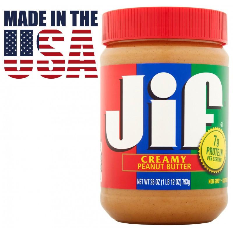 Арахисовая паста (масло) Jif Creamy, 1.13 кг. США