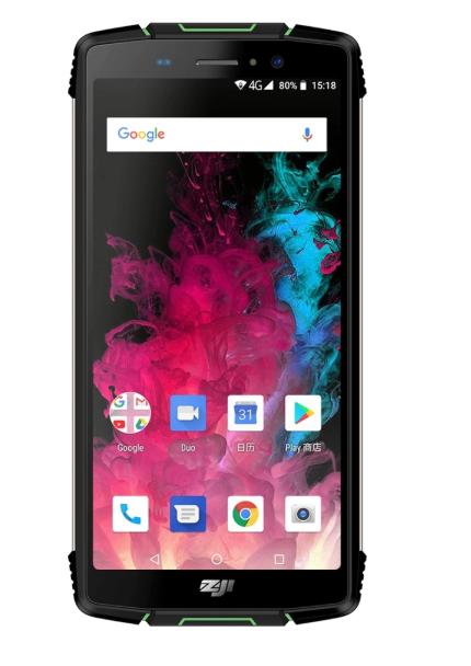 """Защищенный противоударный неубиваемый смартфон Homtom Zoji Z11 - IP68, 5,99"""" IPS, MTK6570t, 4/64Gb, 10 000 mAh"""