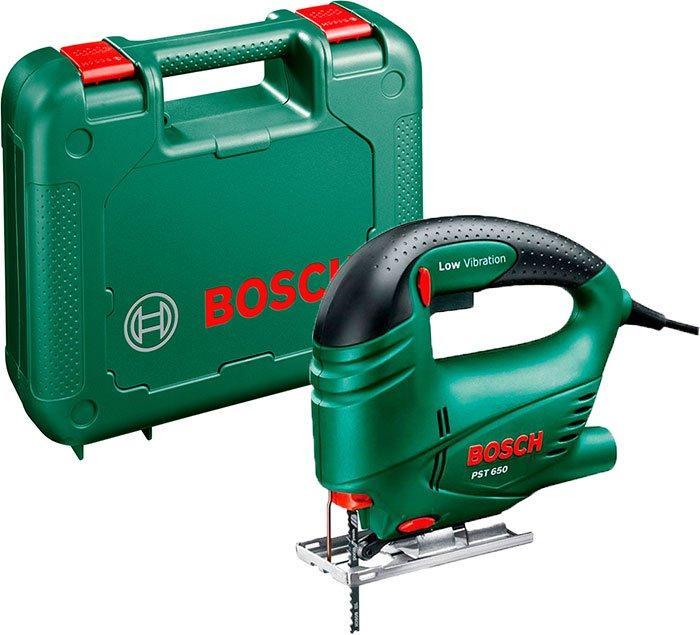 Лобзиковая пила Bosch PST 650 + чемодан (06033A0720)