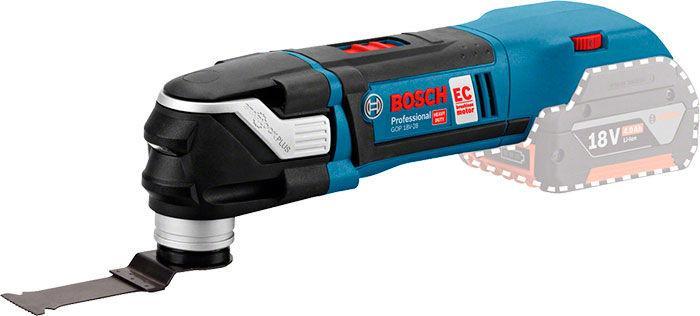 Многофункциональный инструмент Bosch Professional GOP 18 V-28 без з/у и аккумуляторов (06018B6002)