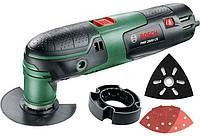Многофункциональный инструмент Bosch PMF 2000 CE + насадки (0603102003)