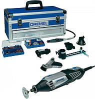 Многофункциональный инструмент DREMEL 4000 Platinum + чемодан + 6 приспособлений + 128 насадок (F0134000LR)