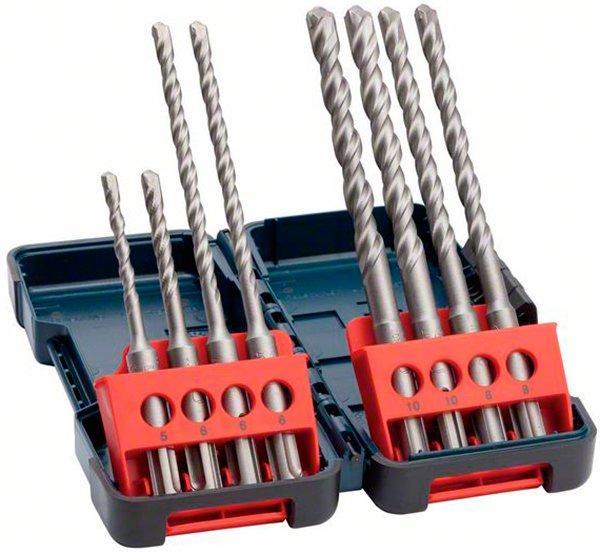 Набор из 8 ударных сверл Bosch Professional SDS-Plus-3 (2607019903)