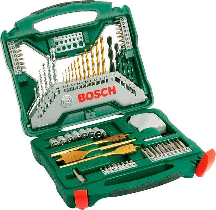 Набор насадок Bosch X-Line Titanium, 70 шт (2607019329)