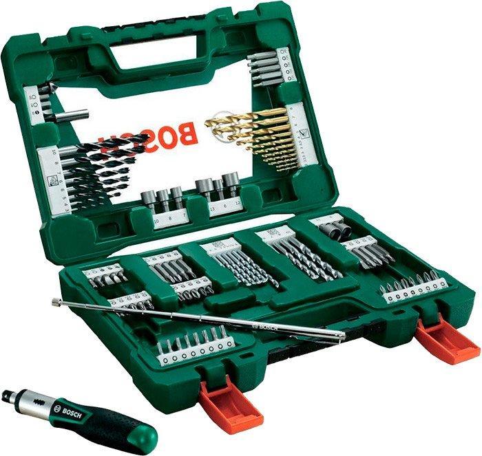 Набор сверл и бит Bosch V-Line 91 шт (2607017195)