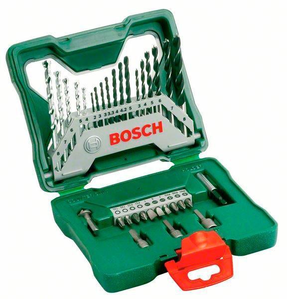 Набор сверл, бит Bosch X-Line, 33 шт (2607019325)