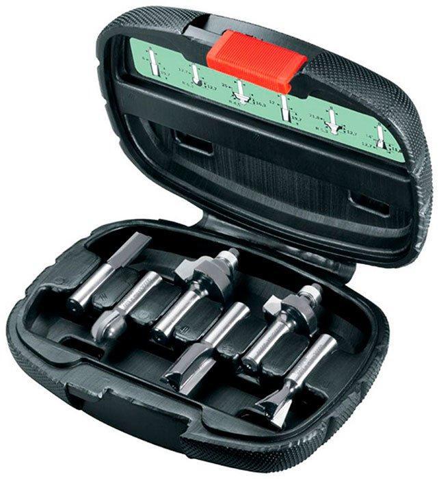 Набор фрез Bosch Expert for Wood 8 мм, 6 шт (2607019463)