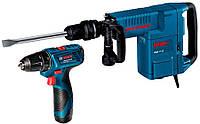 Отбойный молоток Bosch GSH 11 E + GSR 120-LI (061131670D)
