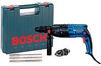 Перфоратор Bosch GBH 240 F + сменный патрон + набор 3 сверл + чемодан (061127300D)