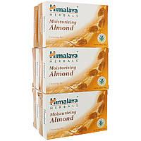 Himalaya, Брусок мыла с увлажняющим миндалем, 6 брусков, 4,41 унц. (125 г) каждый