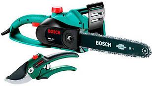 Пила цепная Bosch AKE 35 + секатор (060083400S)