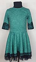 Платье для девочек Анабель р. 128-146 зеленый, фото 1