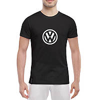 Футболка с печатью принта логотип Volkswagen , фото 1