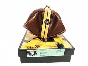 Монетница кожаная Tony Perotti Italico 1090 cognac, фото 2