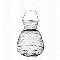 Садок металлический с крышкой Salmo (25х25см - 24 / 32 см)