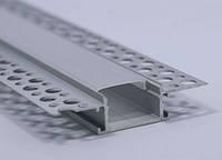 Алюминиевый профиль врезной под штукатурку, фото 1