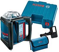 Ротационный лазерный нивелир Bosch GRL 500 H + пульт LR 50 + чехол + держатель пульта + чемодан (0601061A00)