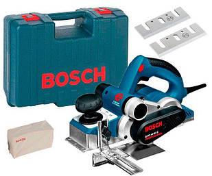 Рубанок Bosch GHO 40-82 C + чемодан + параллельный упор + ножи (060159A760)