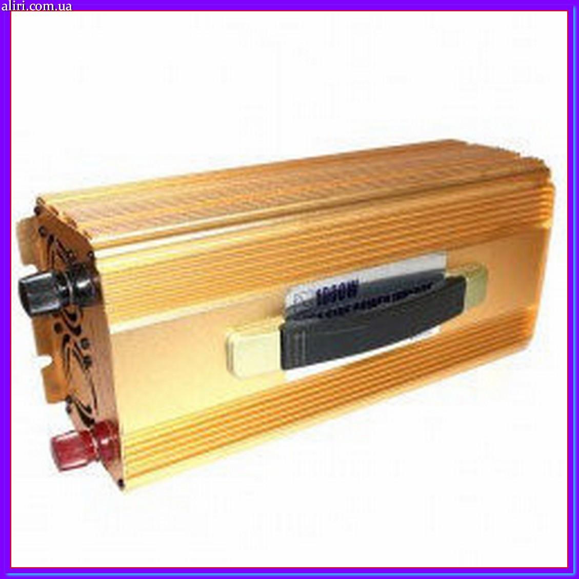 Преобразователь 1000W (чистая синусоида), преобразователь постоянного тока