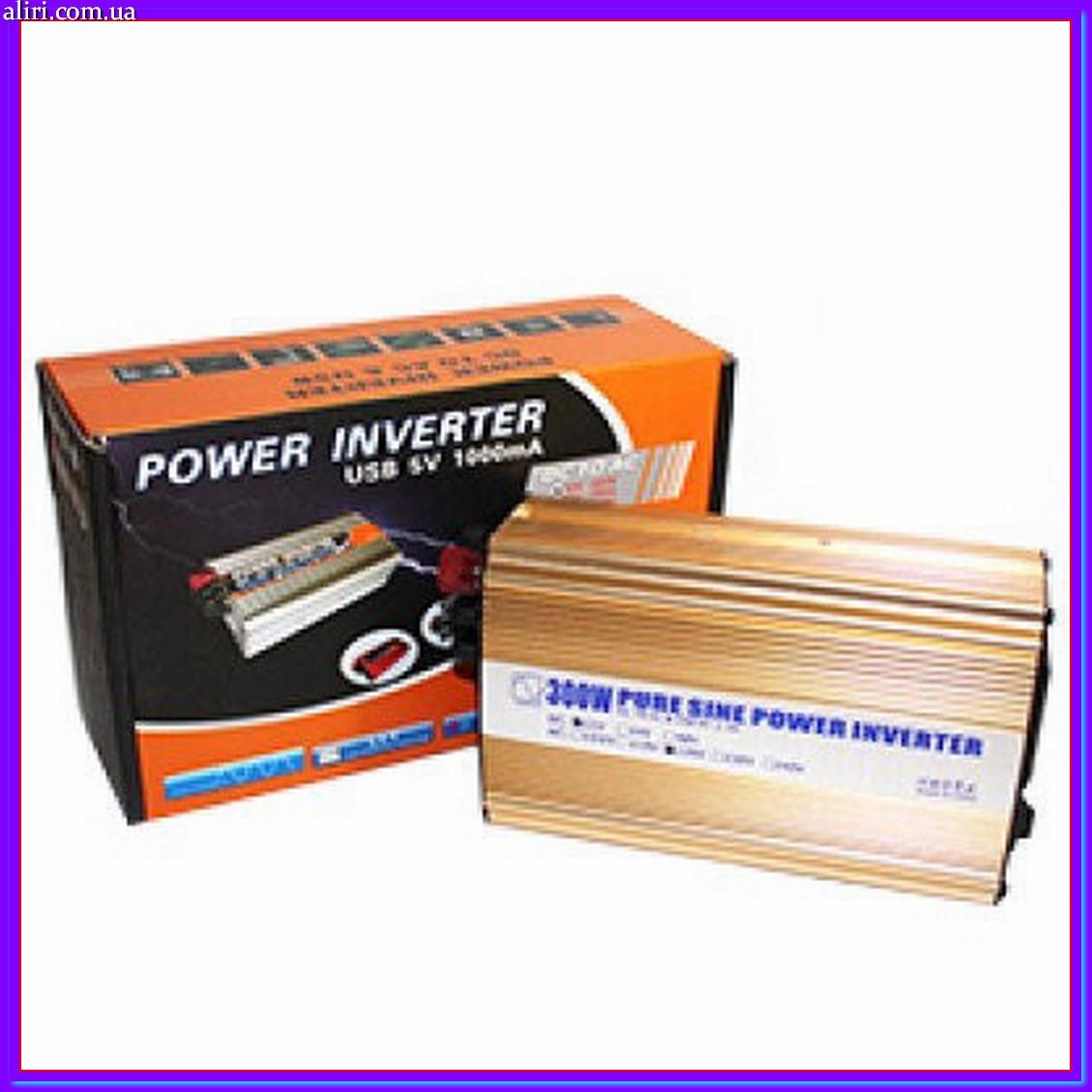 Преобразователь постоянного тока Power Inventer 500W (чистая синусоида)