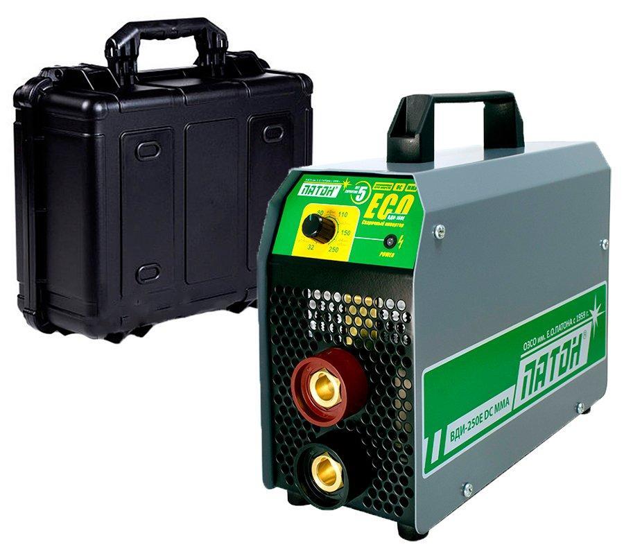 Сварочный аппарат инверторный Патон ВДИ-250E + чемодан (20324447C)