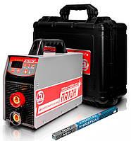 Сварочный аппарат инверторный Патон ВДИ-250P DC MMA/TIG  + электроды + чемодан