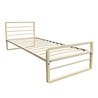 Кровать односпальная металлическая Хайтек