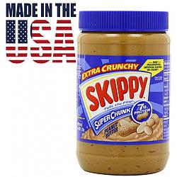 Арахисовая паста с кусочками арахиса Skippy Super Chunk 1,36 кг. США