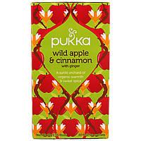 Pukka Herbs, Лесное яблоко и корица с имбирем, 20 пакетиков фруктового чая, 1,41 унции (40 г)