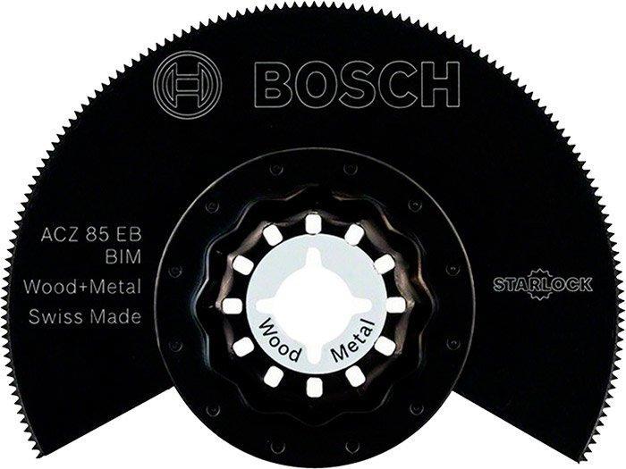 Сегментированный пильный диск Bosch BIM ACZ 85 EB (2608661636)