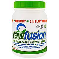 Raw Fusion, соединение на основе белка и растительного сырья, натуральное, не содержит ароматизаторов, 921,9 г (32,5 унции)
