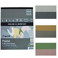 Склейка для пастели Daler-Rowney Murano-Neutral , 22,8х30,5 см