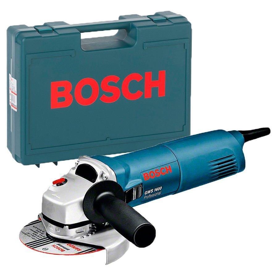 Угловая шлифмашина Bosch Professional GWS 1400 + чемодан (0601824800C)